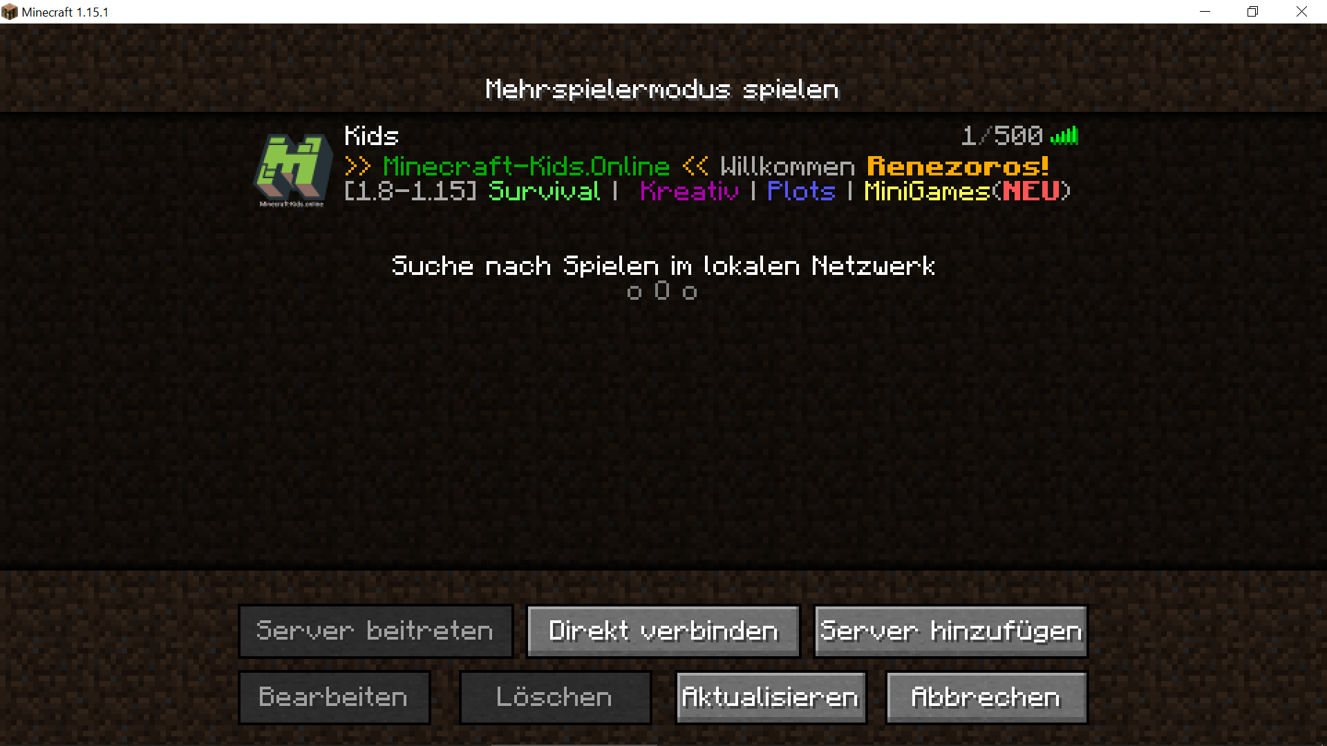 MC-Launcher_Version_Spielen_MP_Server_uebersicht.png